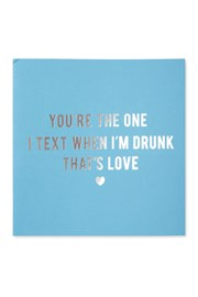 Drunk Text Card