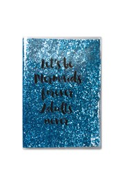 Mermaid A5 Glitter Plastic Notebook
