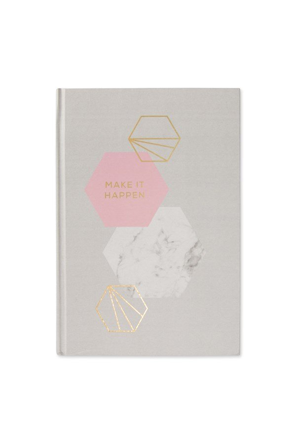 Hexagon A5 Thick Hardback Notebook