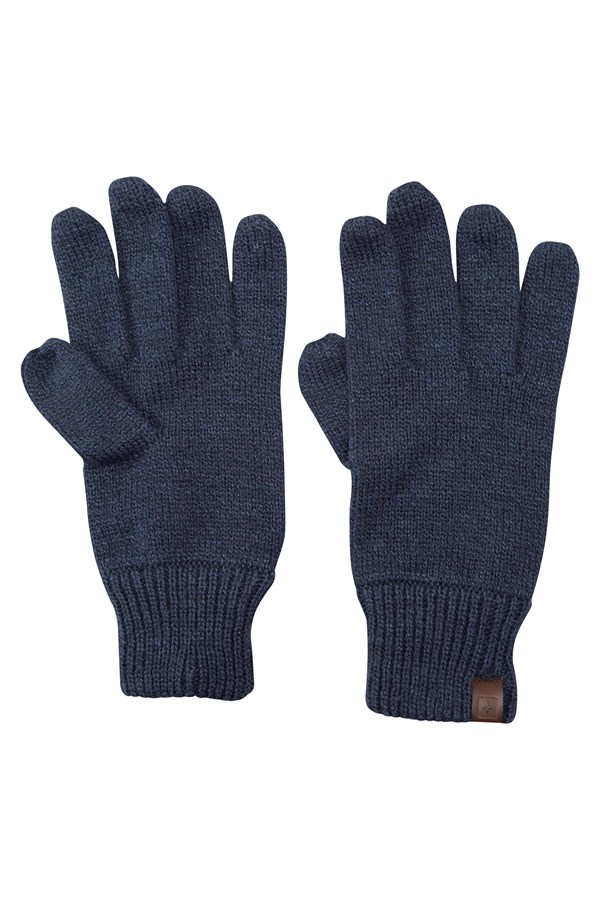 Compass Knitted Gloves