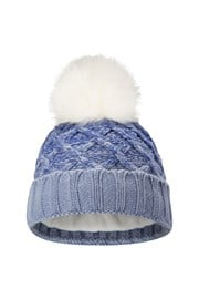 Thinsulate Cable Pom Beanie