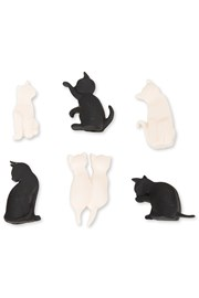 Cat Wine Glass Marker Set