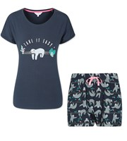 Sloth Pyjamas Short Set